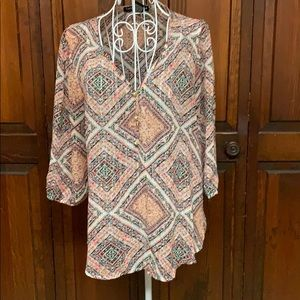Living Doll brand sheer blouse size Small